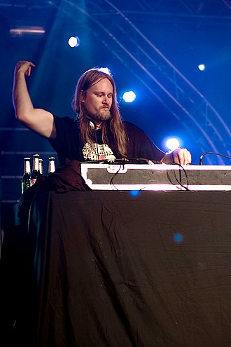 Venetian Snares - Funk performing at Ilosaarirock 2008