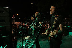 Vertical Horizon - Vertical Horizon performing at the Hartford Block Party in 2010.