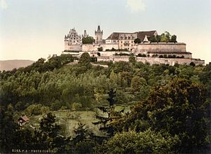 Veste Coburg - The Veste as it looked in the late 19th century or early 20th century