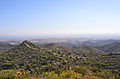 View in direction of the mesaoria (mesarya) near Kantara (North Cyprus) 2003.jpg