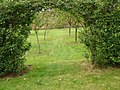 View into apple orchard Castle Bromwich Hall gardens - geograph.org.uk - 605832.jpg