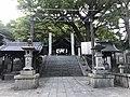 View of Haiden of Ushitora Shrine.jpg