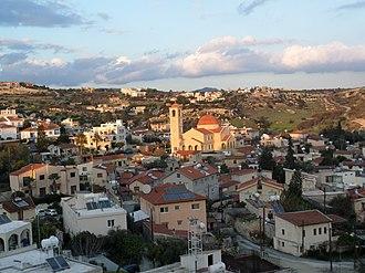 Agios Tychonas - Traditional center of Agios Tychonas