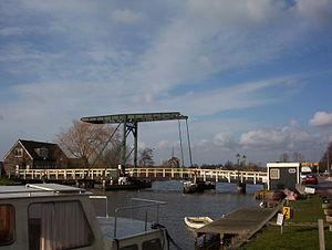 Vijfhuizen - Vijfhuizen bridge over the ringvaart