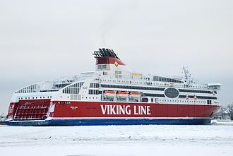 Finnish-Swedish ice class - Cruiseferries sailing on regular routes between Finland, Sweden and Estonia are usually built to the highest Finnish-Swedish ice class, 1A Super. Due to their high engine power, the cruiseferries do not normally require icebreaker assistance.