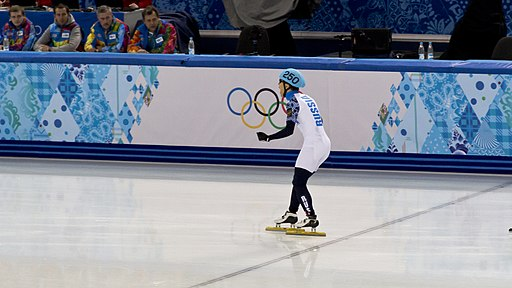 Viktor Ahn in 2014 Winter Olympics (2)