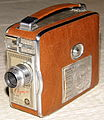Vintage Keystone 8mm Movie Camera, Model K-32 Olympic, Light & Compact, Made In USA, Circa 1950 (13295122983).jpg