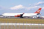 Virgin Atlantic Airbus A340-313 (G-VSUN-114) (14967340809).jpg
