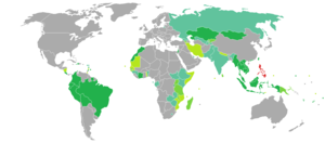 Philippine nationality law - Visa requirements for Filipino citizens