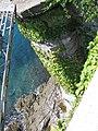 Vista dalla terrazza che gira intorno al castello.JPG