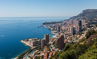 History of Monaco - View of Monaco in 2016