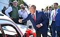 Vladimir Putin at the wedding of Karin Kneissl (2018-08-18) 02.jpg