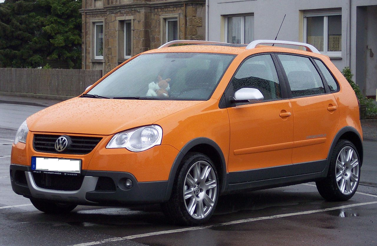 file volkswagen cross polo orange wikimedia commons. Black Bedroom Furniture Sets. Home Design Ideas