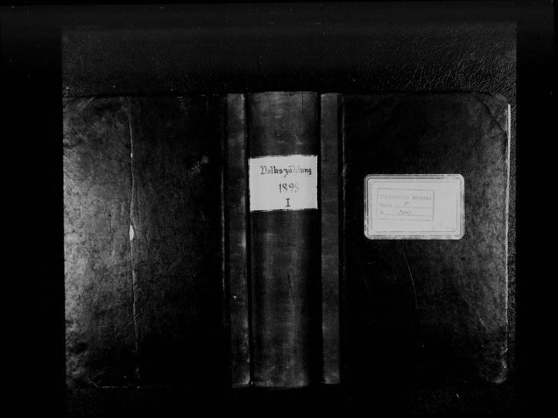 File:Volkszählung in der Stadt Minden, 1895, Band 1.djvu