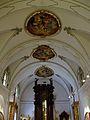Voltes de l'antiga capella de santa Rosa de Lima, actual museu Històric Municipal, València.JPG