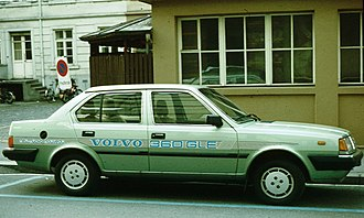 Volvo 300 Series - Volvo 360 side profile