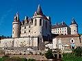 Vue d'ensemble château de la Rochefoucauld depuis les berges de la Tardoire.jpg