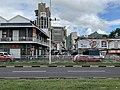 Vue d'un quartier de Port Louis (février 2020) et d'une voie rapide.jpg