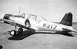 Vultee BT-15 R317 at Lemorre AAF CA.jpg