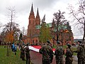 Włocławek-Independence Day 2017, Cathedral.jpg