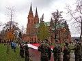 Włocławek-Independence Day 2017, Cathedral.jpg