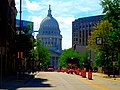 WI State Capitol Viewed From Down King Street - panoramio.jpg