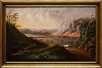 History of Pittsburgh - Great Fire of Pittsburgh, 1845