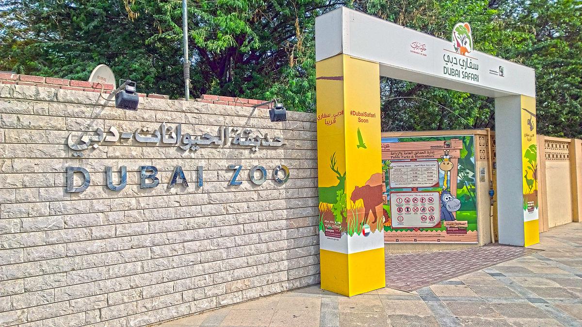 حديقة حيوان دبي ويكيبيديا