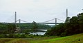 Waldo-Hancock and Penobscot Narrows Bridges from Ft. Knox July, 2007.jpg