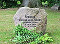 Walsrode - Grabstein Feodora Prinzessin Reuss (1931 - 1999) Friedhof Saarstraße 01.jpg