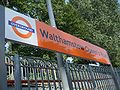 Walthamstow Queens Road stn signage.JPG