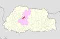 Wangdue Phodrang Nyisho Gewog Bhutan location map.png