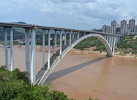 Image illustrative de l'article Pont de Wanxian