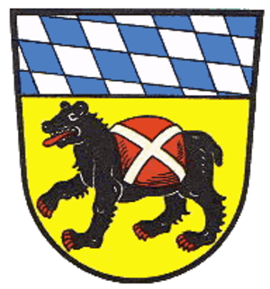 Bear in heraldry - Coat of arms of Freising.