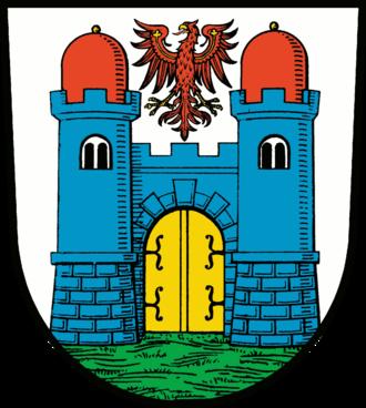 Friesack - Image: Wappen Friesack