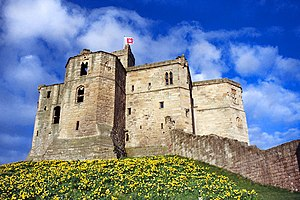 Henry Percy (Hotspur) - Warkworth Castle, the home of Henry Percy