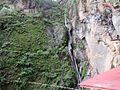 Water fall at Paro Taktsang 06.jpg
