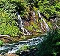 Water from Rock, Burney Creek, CA 9-06 (15720575812).jpg