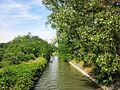 Water inlet of Ancien Canal du Rhône au Rhin near Neuf Brisach, Alsace, France - panoramio.jpg