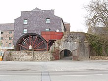 Water wheel and mill, Castlebridge - geograph.org.uk - 1237771.jpg