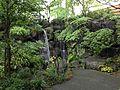 Waterfall of Momijiyama Garden in Sumpu Castle Park 2.JPG