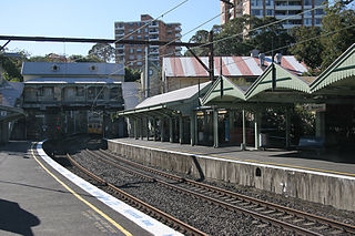 Waverton railway station, Sydney railway station in Sydney, New South Wales, Australia