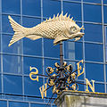 Weather vane on Old Billingsgate market 2014.jpg