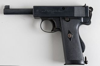 Webley Self-Loading Pistol - Image: Webley & Scott 455 (6971800477)