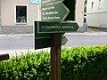 Wegweiser Jakobsweg bei der Marienkirche in Stollberg.jpg