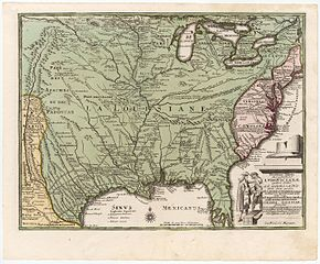 Florida East Coast Map.French Colonization Of The Americas Wikipedia