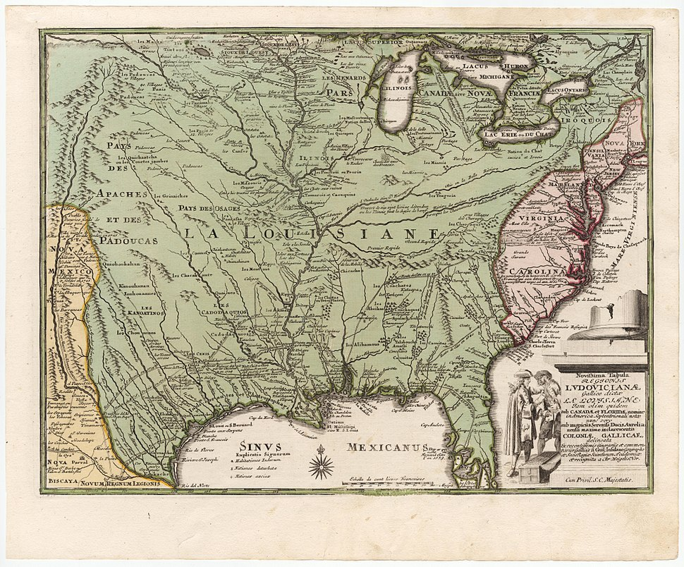 Weigel La Louisiane 1719 Cornell CUL PJM 1017 01