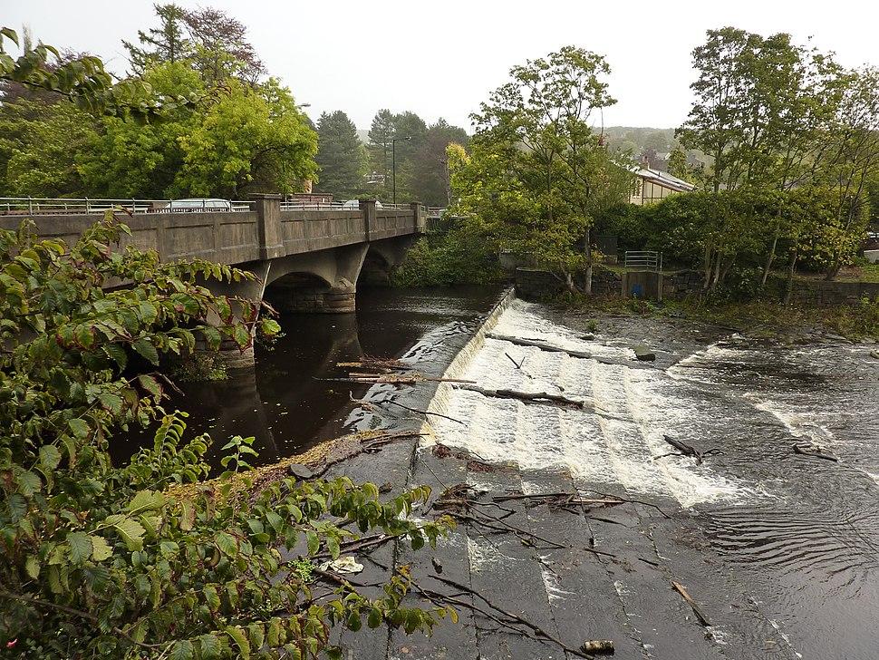 Weir, River Don, Oughtibridge