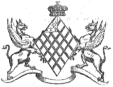 Wentworth Achievement (Burke's Peerage 1858).png