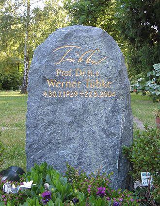 Südfriedhof (Leipzig) - Gravestone of Werner Tübke